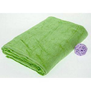 Махровая простынь Зеленый цвет