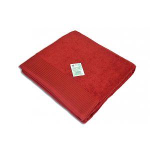 Простыня махровая DEEP RED (бордовый)