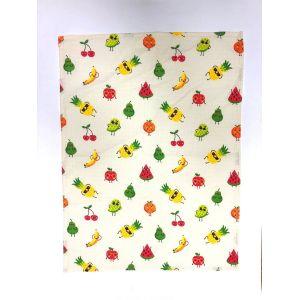 Веселі фрукти. вафельний рушник кухонний