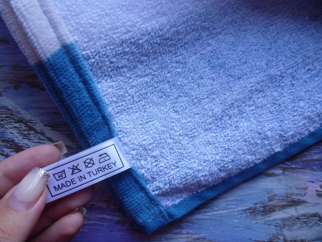 Пляжное полотенце Гармония синий, обзор, фото - 2