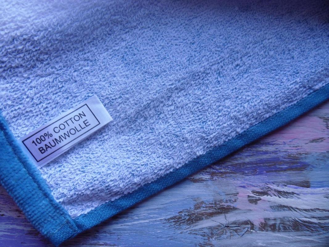 Пляжное полотенце Гармония синий, обзор, фото - 3