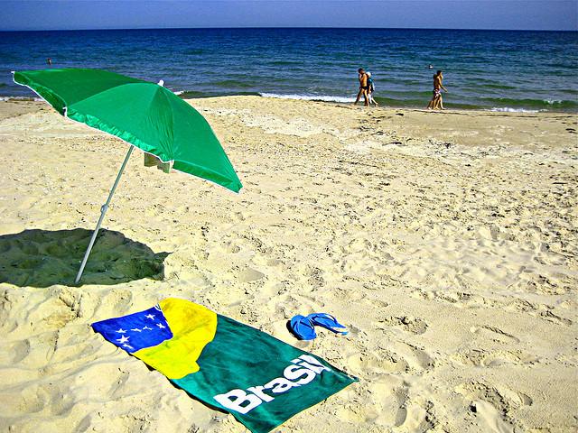 пляжний рушник фото
