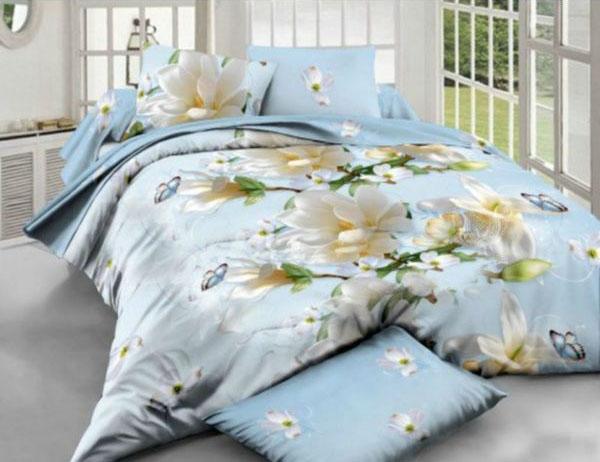 Недорогое постельное белье из синтетической ткани ТМ Комфорт текстиль